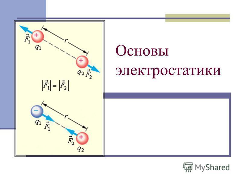 Основы электростатики