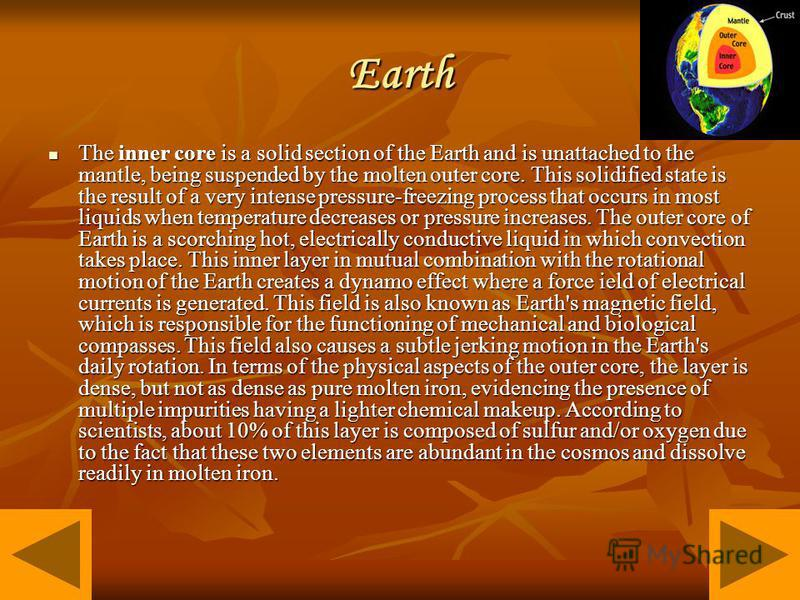 the molten core theory essay This theory also states that it was entirely molten originally, and was not present when the earth originally formed 45 billion years ago instead it is created by the earth's outer core, made of molten iron and nickel the magnetic field is created when the outer core flows around the inner core.