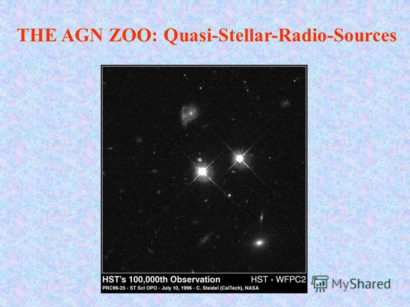 THE AGN ZOO: Quasi-Stellar-Radio-Sources