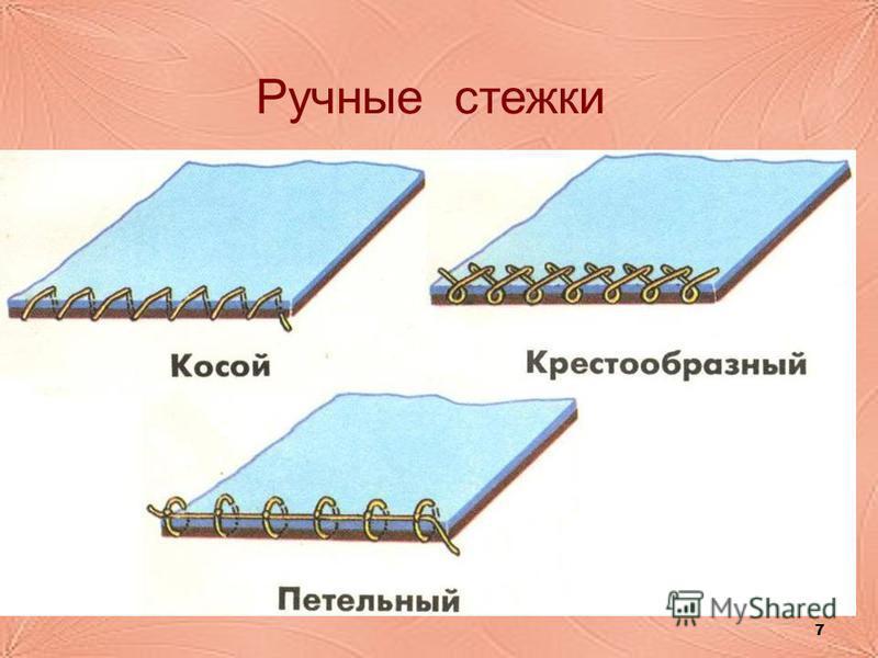 7 Ручные стежки