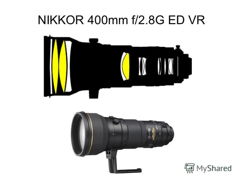 NIKKOR 400mm f/2.8G ED VR