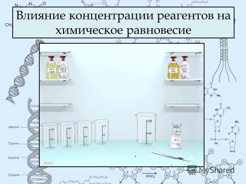 Влияние концентрации реагентов на химическое равновесие