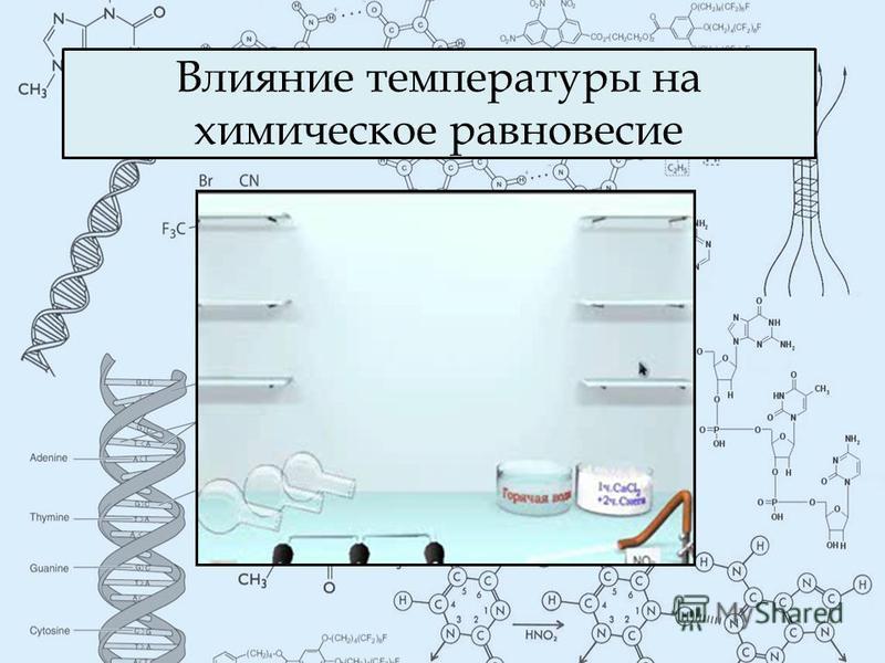 Влияние температуры на химическое равновесие