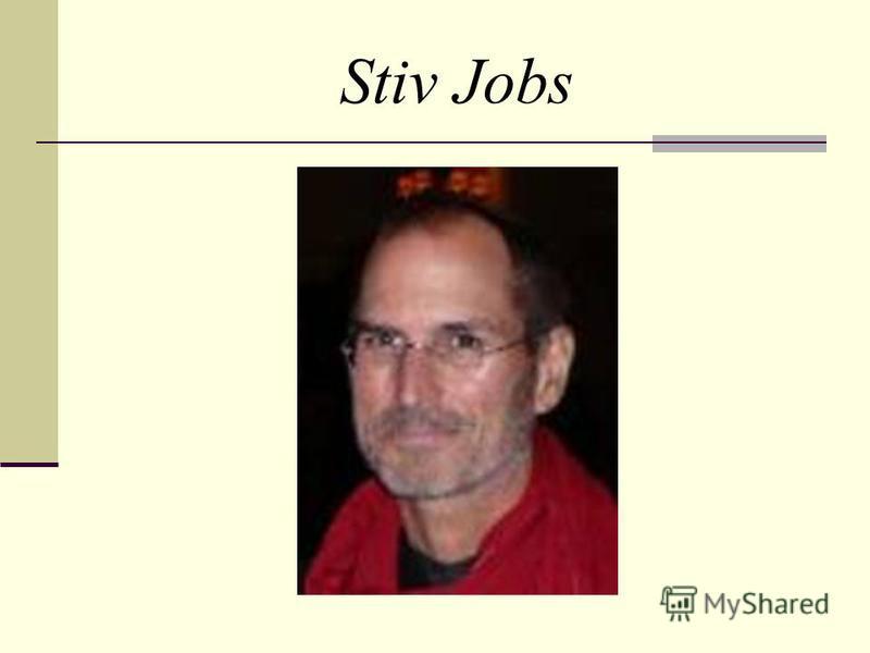 Stiv Jobs