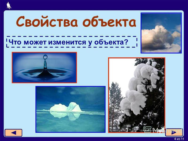 4 из 11 Свойства объекта Что может изменится у объекта?
