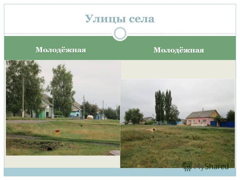 Молодёжная Улицы села