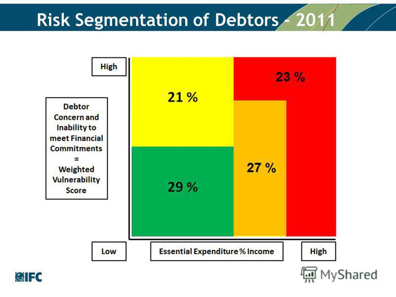 Risk Segmentation of Debtors - 2011