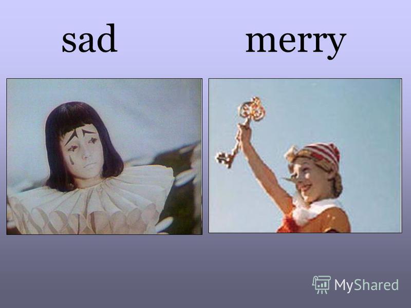 sad merry