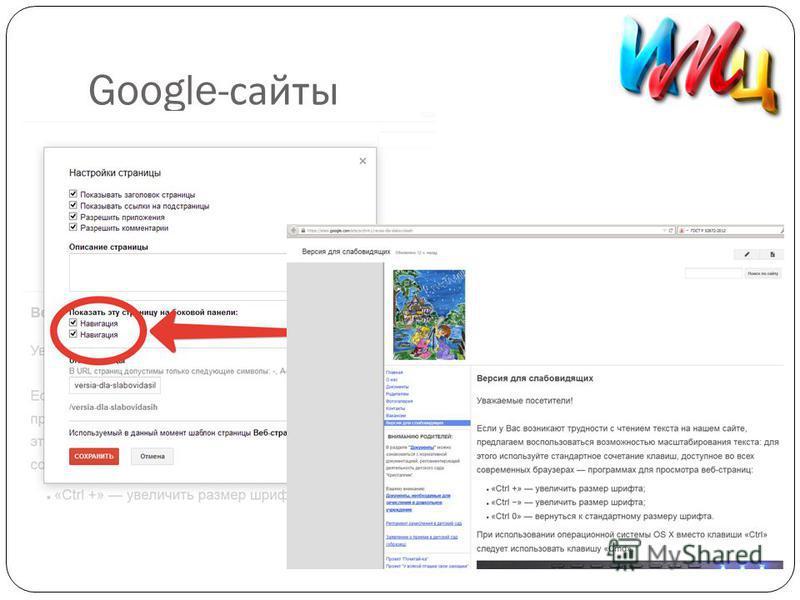 Google- сайты