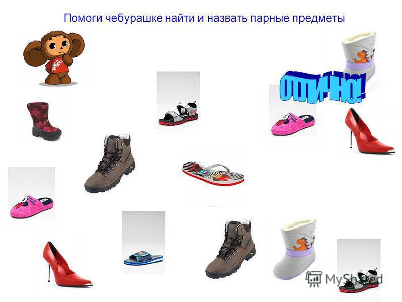 Помоги Незнайке одеться на зимнюю прогулку и назвать предметы одежды