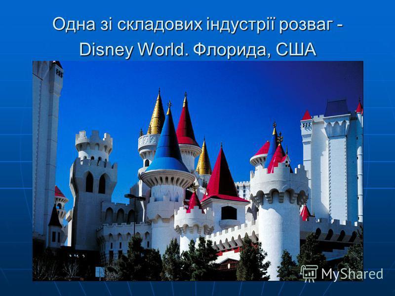 Одна зі складових індустрії розваг - Disney World. Флорида, США