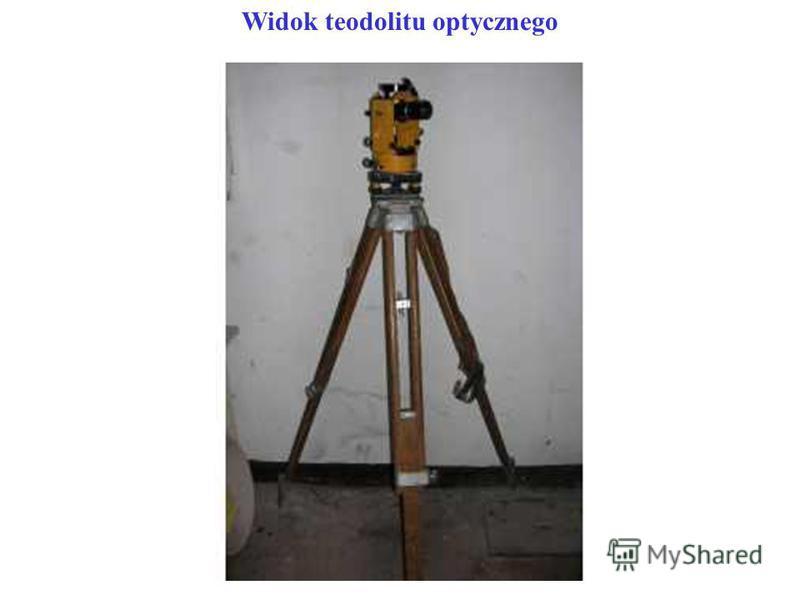 Widok teodolitu optycznego