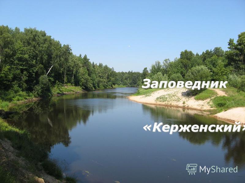 Заповедник«Керженский»