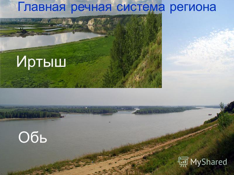 Обь Иртыш Главная речная система региона