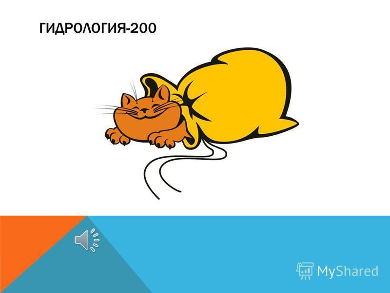 ГИДРОЛОГИЯ-200