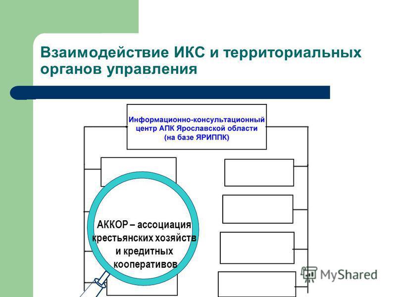 Департамент культуры и туризма Взаимодействие ИКС и территориальных органов управления