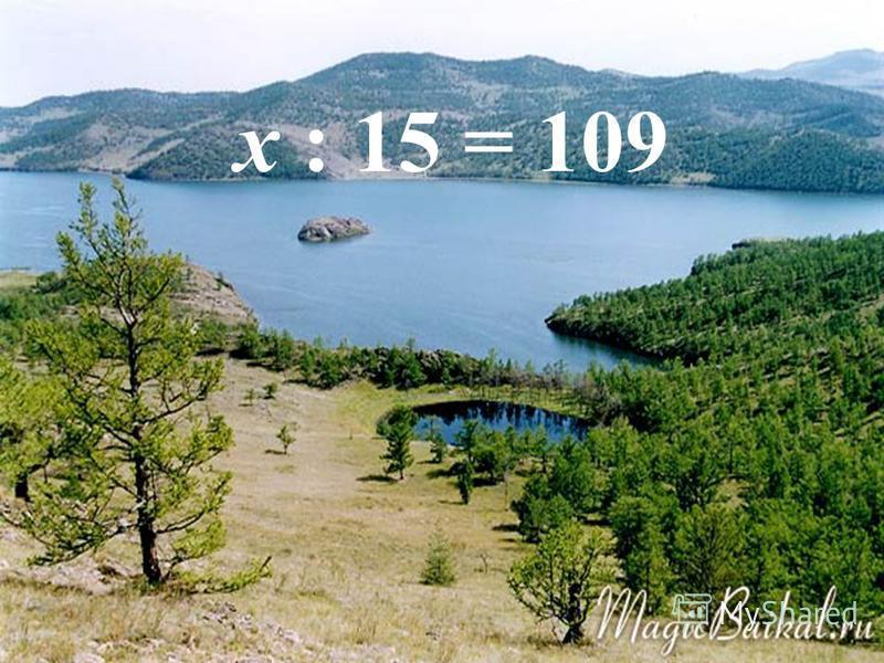 И.А. Глушкова, Т.Н. Полякова x : 15 = 109