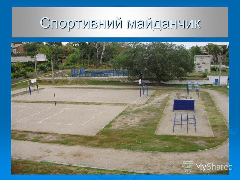 Спортивний майданчик