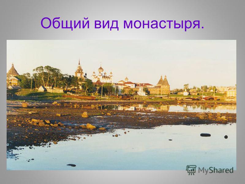 Общий вид монастыря.