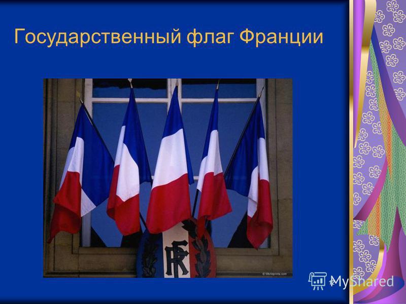 12 Государственный флаг Франции