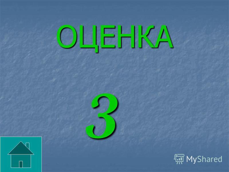 ОЦЕНКА 3