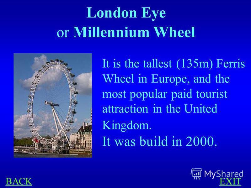 LONDON 300 What is London Eye?