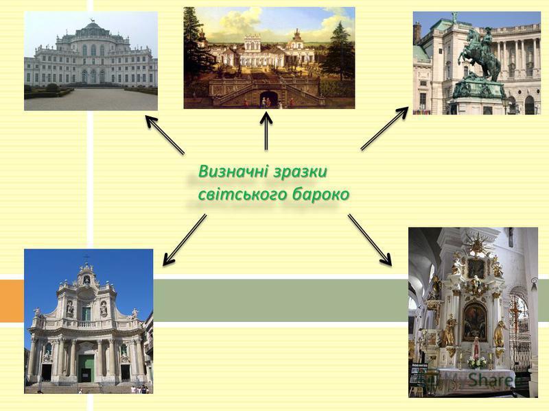 Визначні зразки світського бароко
