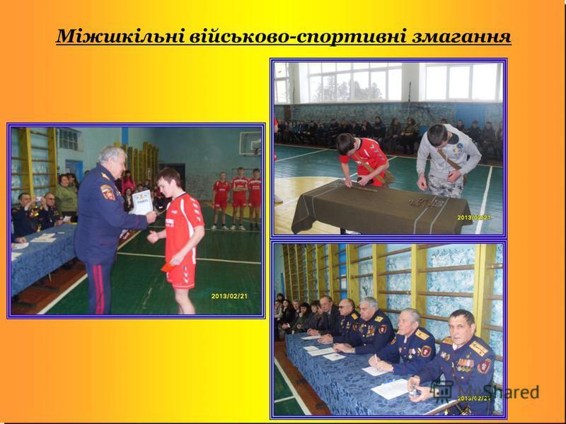 Міжшкільні військово-спортивні змагання