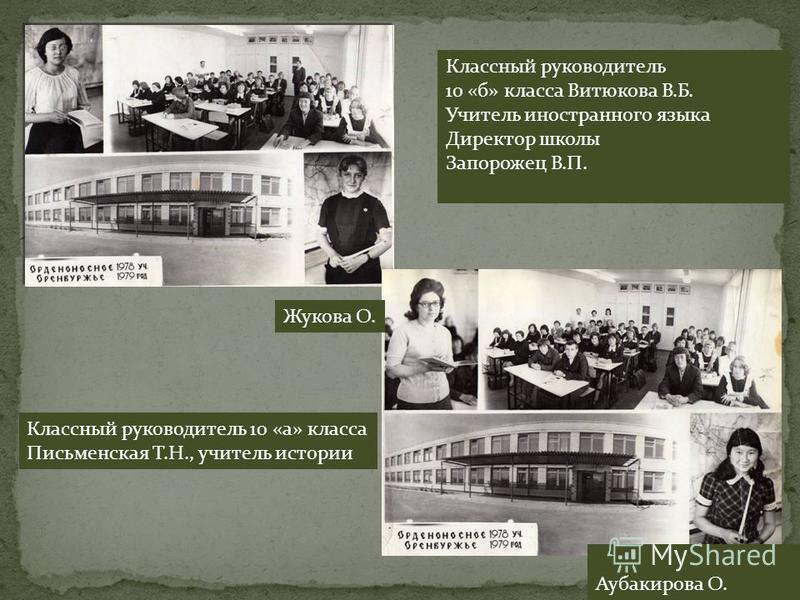23 февраля 1978-1979 учебный год. 10 «б»класс Классный руководитель Абетова (Витюкова В.Б)