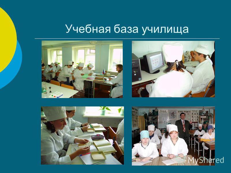 Учебная база училища