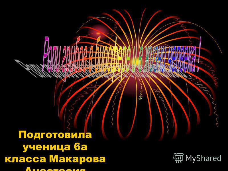 Подготовила ученица 6 а класса Макарова Анастасия
