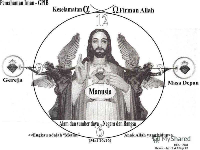 > (Mat 16:16) BPK – PKB Dewan – bjr / 1 & 8 Sept 07