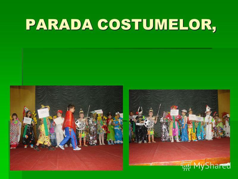 PARADA COSTUMELOR,
