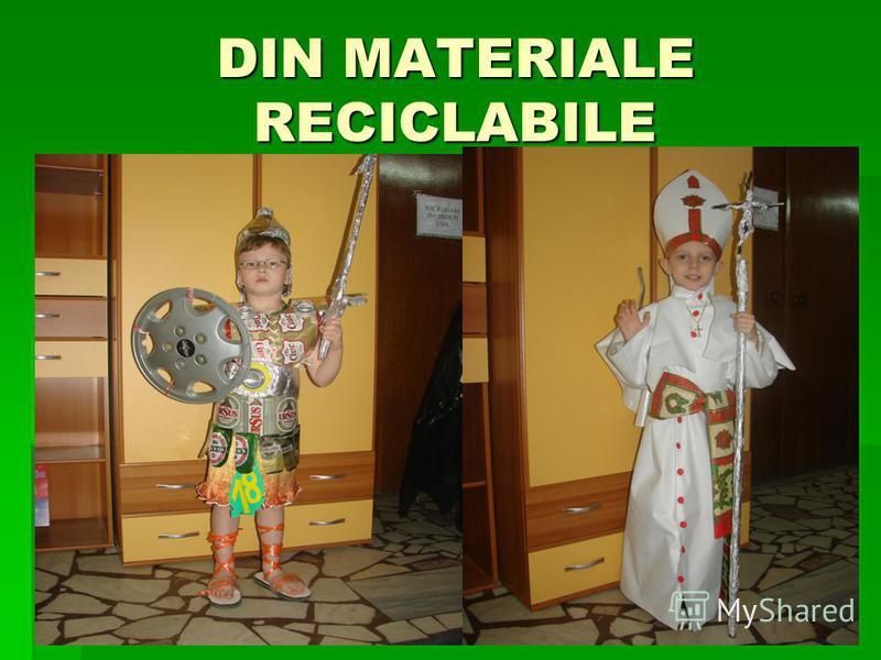DIN MATERIALE RECICLABILE