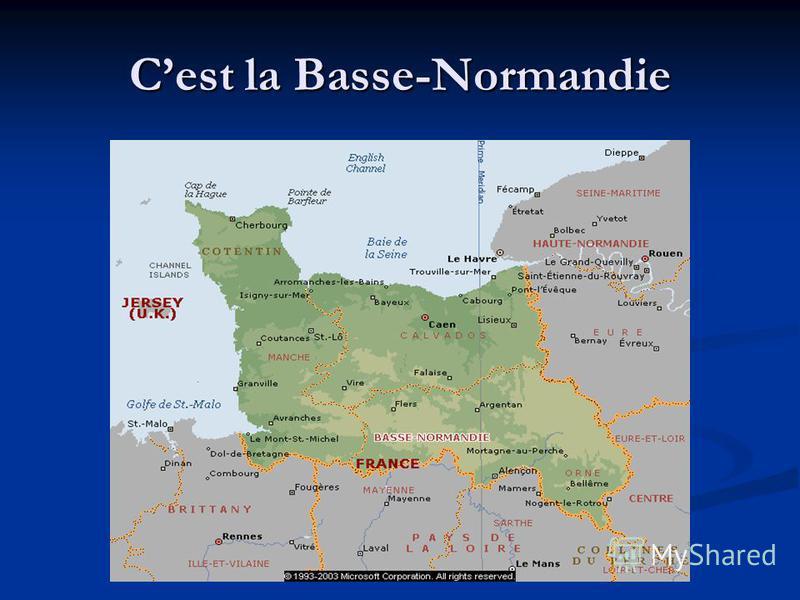 Cest la Basse-Normandie