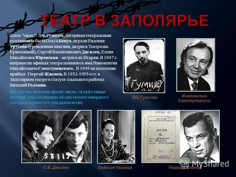 Иннокентий Смоктуновский Георгий Жженов Евдокия Урусова Здесь