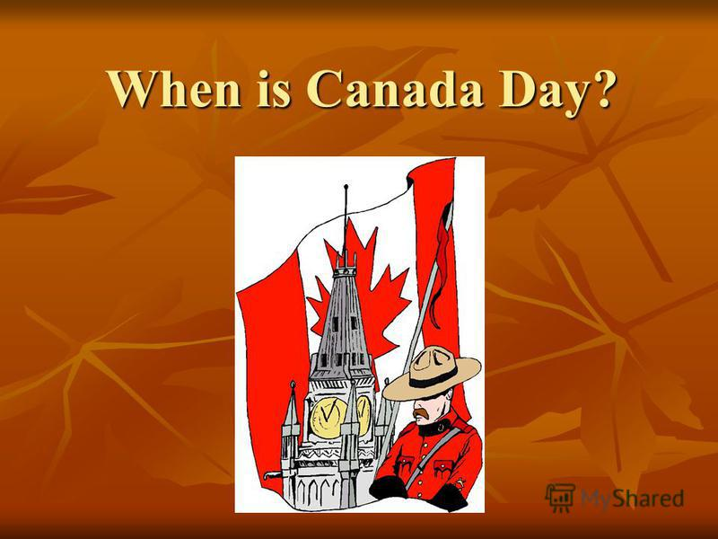 When is Canada Day?