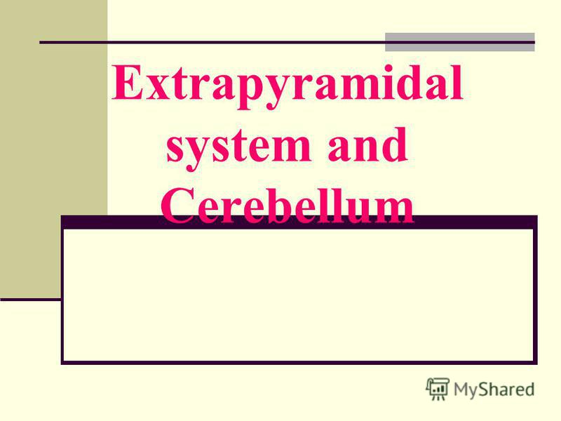 Extrapyramidal system and Cerebellum