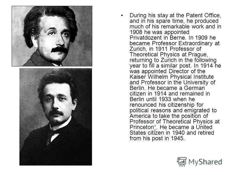a biography of albert einstein born in ulm wurttemberg germany