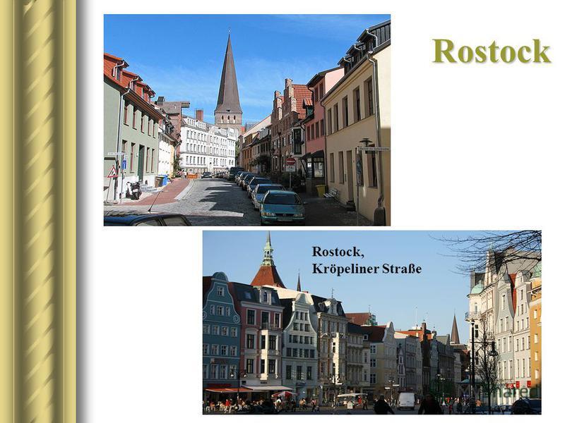 Rostock Rostock, Kröpeliner Straße
