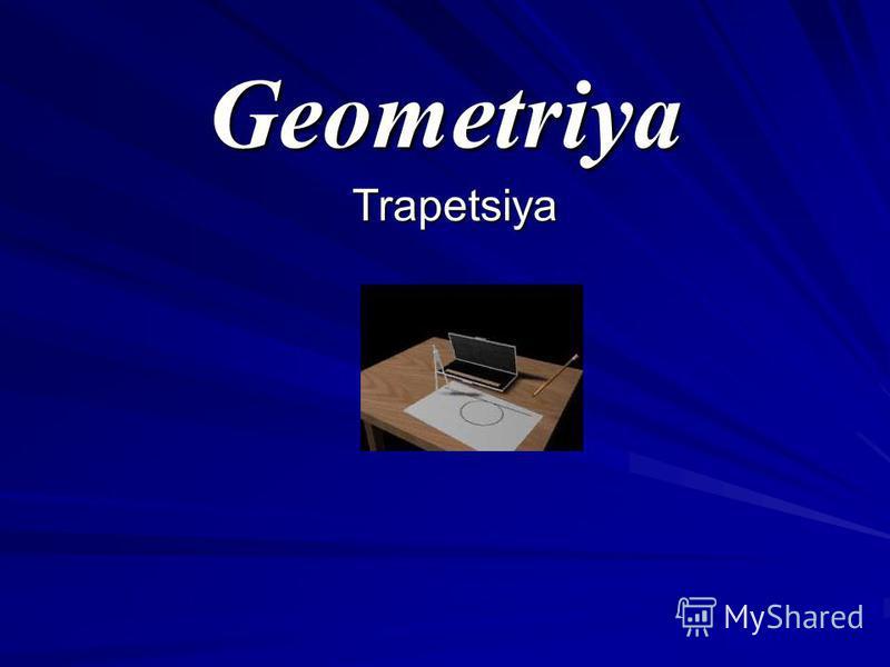 Geometriya Trapetsiya