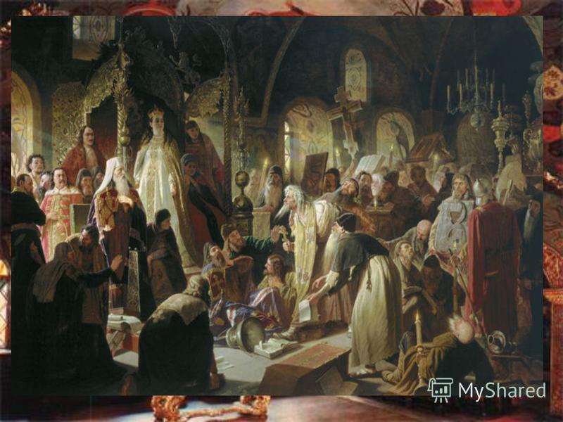 Между тем брату Софьи, царевичу Петру, исполнилось 17 лет. Поддержанный сторонниками, в сентябре 1689 г. он низложил правительство сестры, а ее приказал заточить в Новодевичий монастырь в Москве, где спустя восемь лет она была пострижена в монахини п