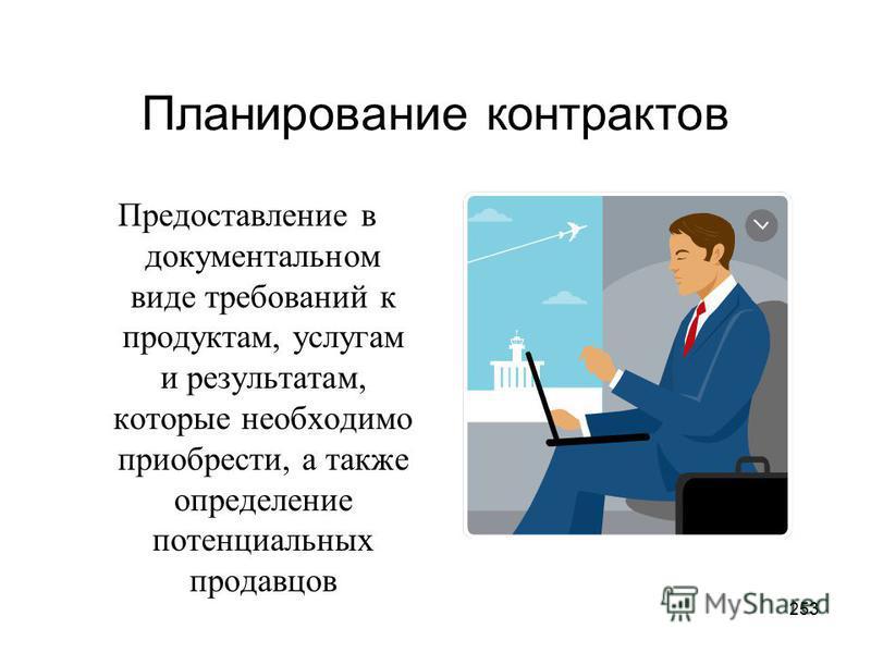 252 Планирование контрактов (Plan Contracting).