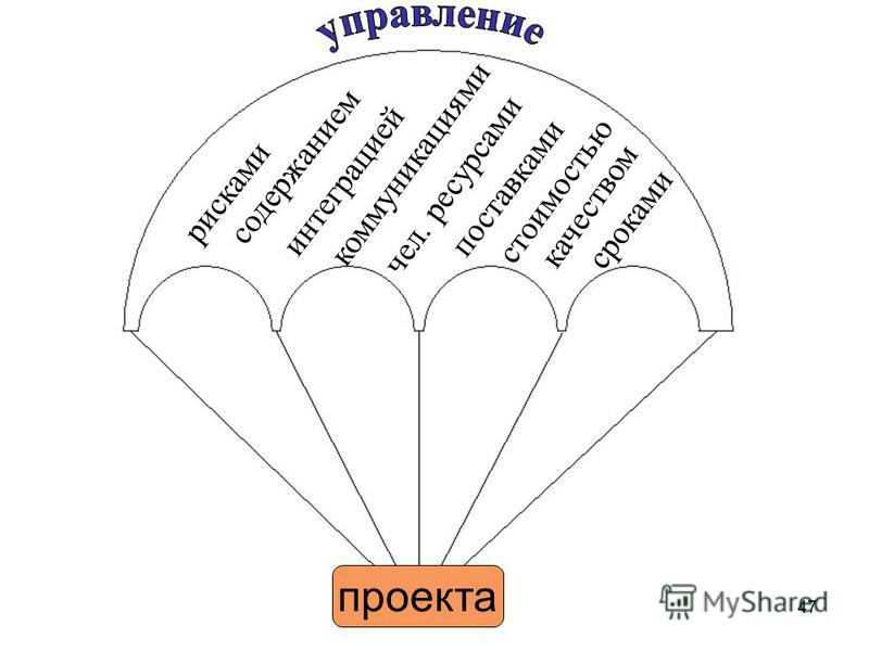 Области знаний по управлению проектами