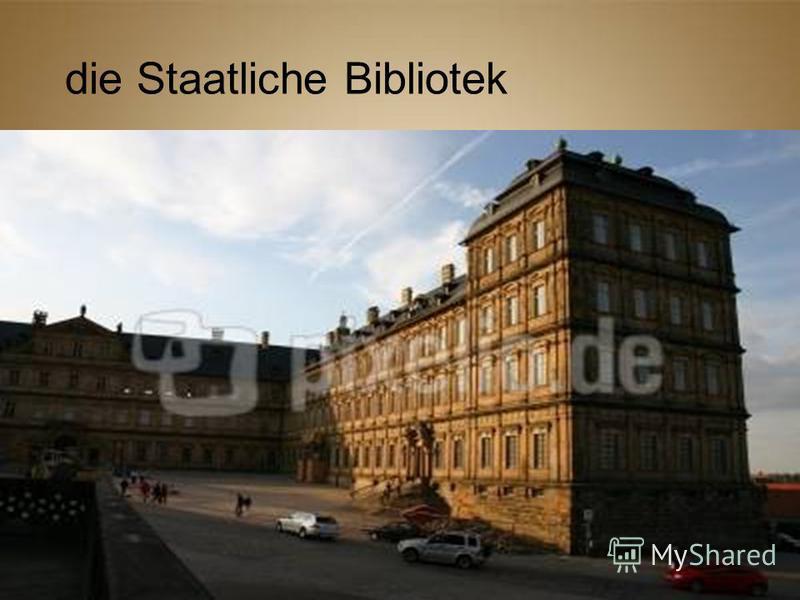 die Staatliche Bibliotek