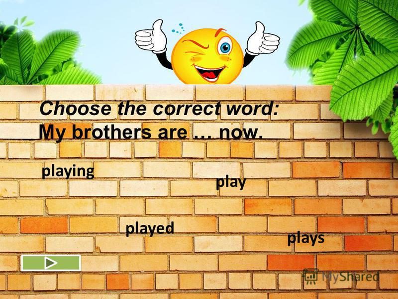 Jack is a pupil. Jack likes playing. Jack is not a teacher. Jack is writing now. Choose the correct sentence (in Present Continuous)