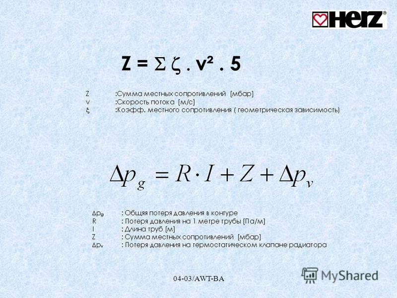 Z = v². 5