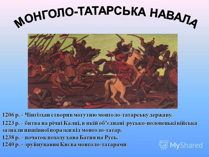 В 1097 р. в м.Любечі відбувся зїзд руських князів. На ньому вони домовлялися про припинення міжусобиць і обєднання сил у боротьбі з половцями. Проте укладені домовленності не виконувались. Організатором зїзду був князь Мономах.
