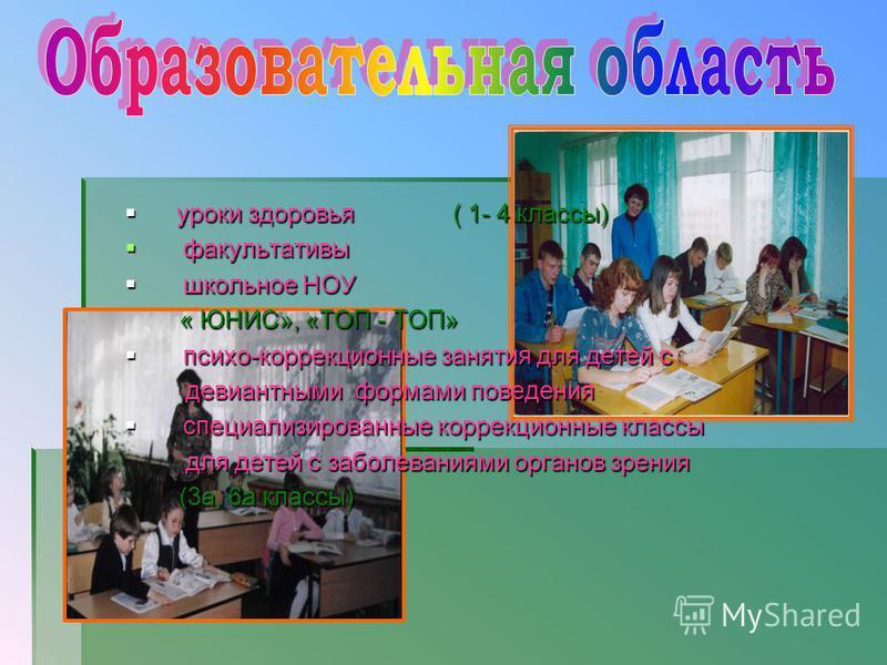Образовательная деятельность Лечебно- восстановительная деятельность Спортивно- оздоровительная деятельность
