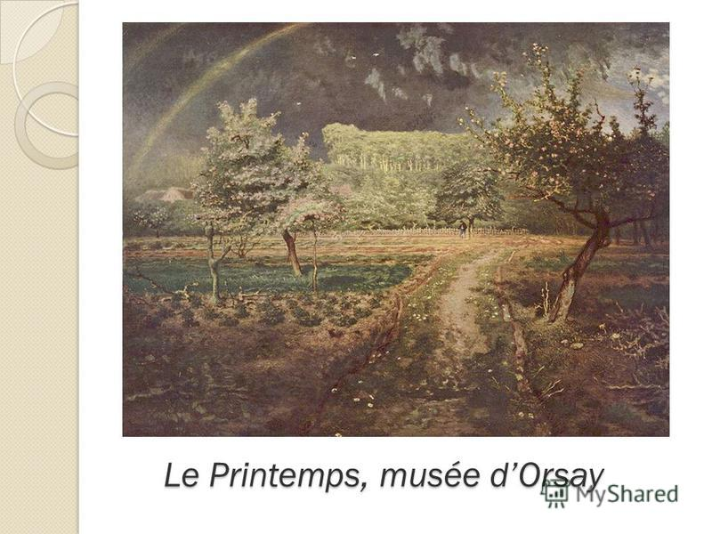 Le Printemps, musée dOrsay